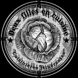 Deux Filles en Cuisine logo