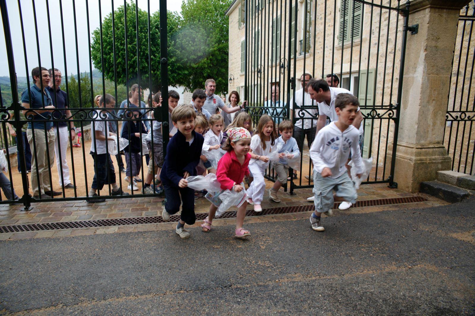 Les enfants au Domaine de Vavril - week-end en famille